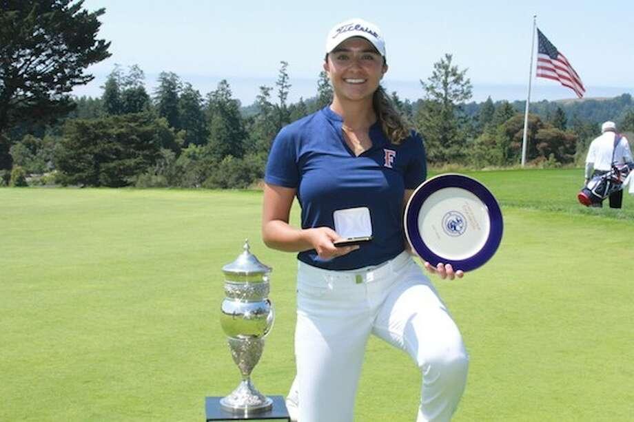 Mexico City native Sara Camarena wins 54th California Women's Amateur Golf Championship Photo: SportStars Magazine