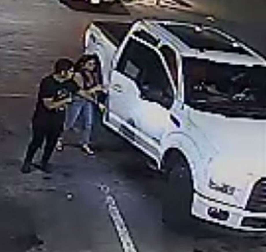 Laredo police said they are looking for the individuals shown in these photos in relation to an assault at a convenience store. To provide information on the case, call police at 795-2800 or Laredo Crime Stoppers at 727-TIPS (8477). Information provided through Crime Stoppers may be eligible for a cash reward of up to $1,000. Callers will remain anonymous. Photo: Courtesy Photo /Laredo Police Department