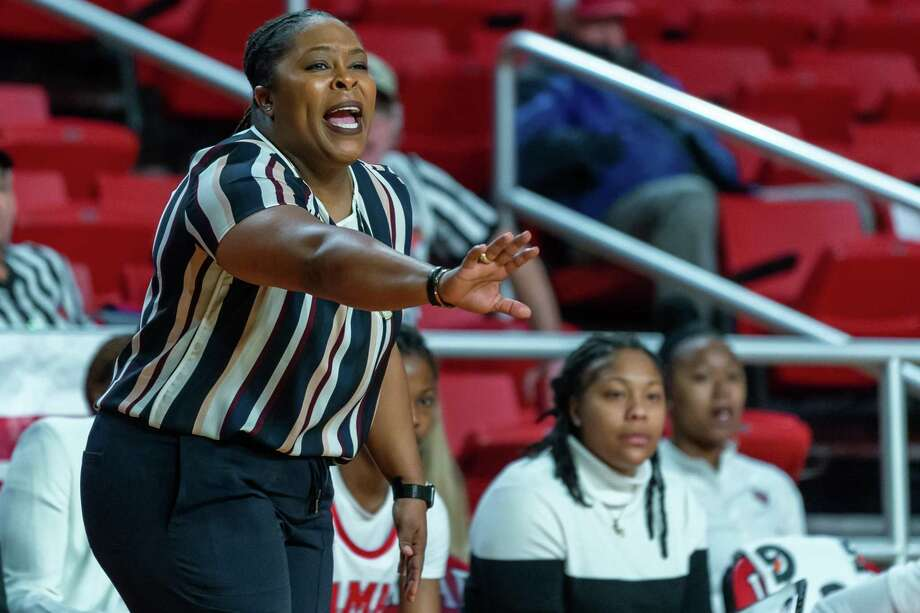 Nicholls State University women's basketball came to town to battle with the Lamar Lady Cardinals on February 12, 2020.  Fran Ruchalski/The Enterprise Photo: Fran Ruchalski/The Enterprise / 2019 The Beaumont Enterprise