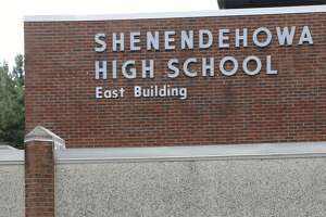 East Building of Shenendehowa High School in Clifton Park, N.Y. Sept 10, 2012. (Skip Dickstein/Times Union)
