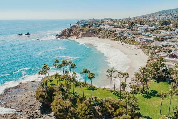 Laguna Beach, California Aerial View