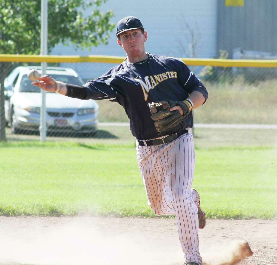 The Manistee Saints recently announced former infielder Nick Papes has been elected to their Hall of Fame. (News Advocate file photo)