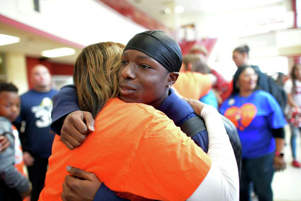 """Bryce Wisdom inspired the whole city in his battle with cancer, always keeping a positive attitude until the end. """"Bryce Strong"""" has become a citywide rallying call."""