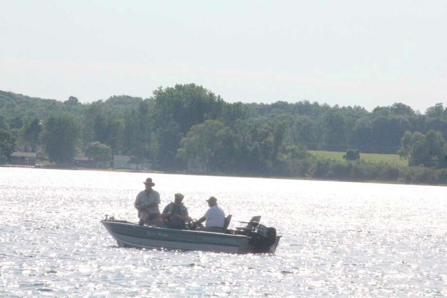 Anglers are dealing with hot weather in recent days. (Herald file photo)