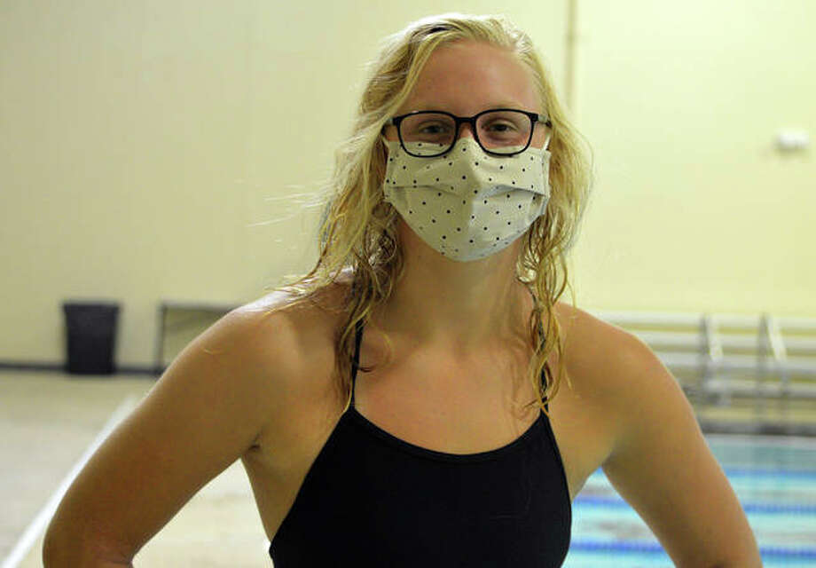 Edwardsville swimmer Allison Naylor hopes to have a senior season, even if it is delayed by the COVID-19 pandemic. Photo: Intelligencer Sports Staff