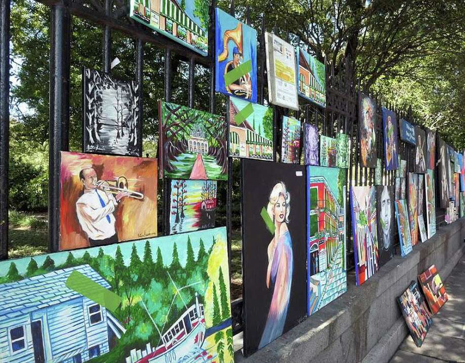 Milford Arts Council is calling for artists for an outdoor summer pop up exhibit on Aug. 8. Photo: Milford Arts Council