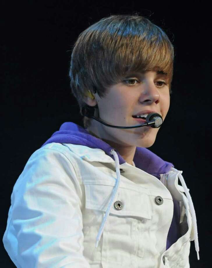 Singer Justin Bieber performs at the Times Union Center in Albany, NY on August 25, 2010. (Lori Van Buren / Times Union) Photo: Lori Van Buren