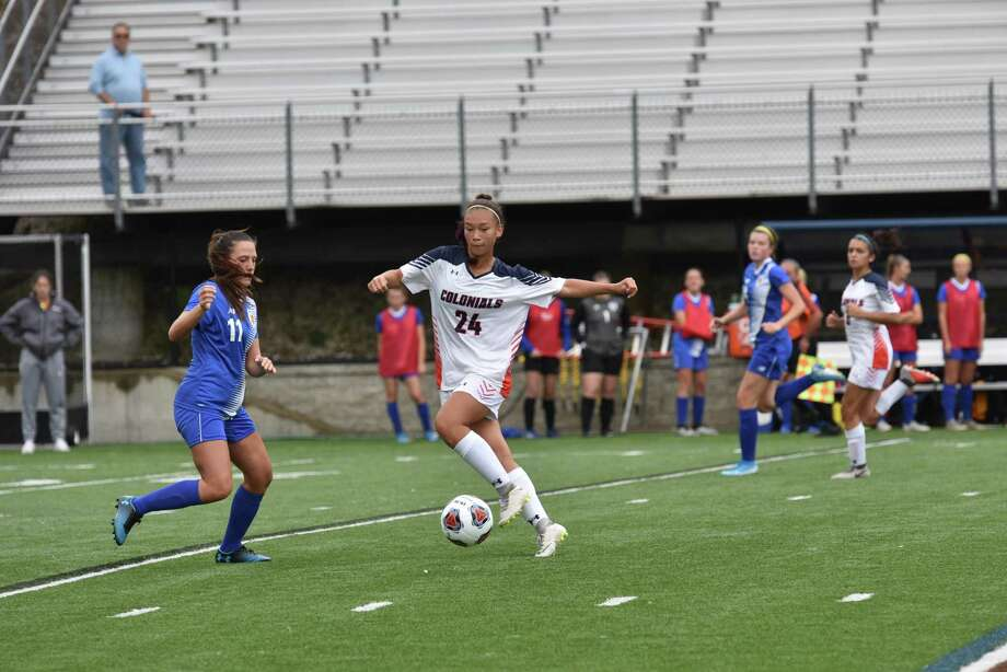 Shelton's Kaleigh Panek and the other WestConn fall sport athletes won't have any conference games in the fall after Little East suspended conference play and tournaments for the fall sports season. Photo: Western Connecticut Athletics / Contributed Photo