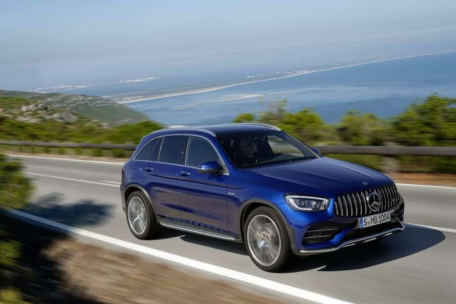 The GLC43 came with the 3.0-liter V-6 bi-turbo engine, rated at 385 horsepower. Photo: Media MBUSA / Contributed Photo