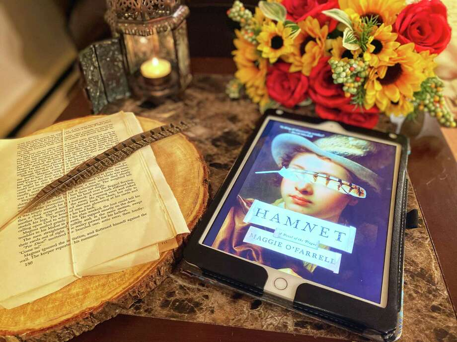 """Hamnet"" is the latest novel by author Maggie O'Farrell. Photo: TinaMarie Craven / Hearst Connecticut Media /"