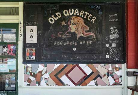 The Old Quarter Acoustic Cafe, photographed Thursday, July 23, 2020, at the venue in Galveston.