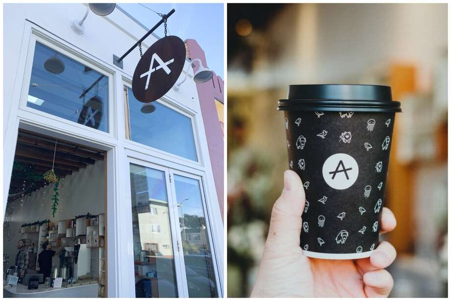 Andytown Coffee Roasters at 3629 Taraval in San Francisco. Photo: From (l) To (r): Randy L. On Yelp/ Ian T. On Yelp