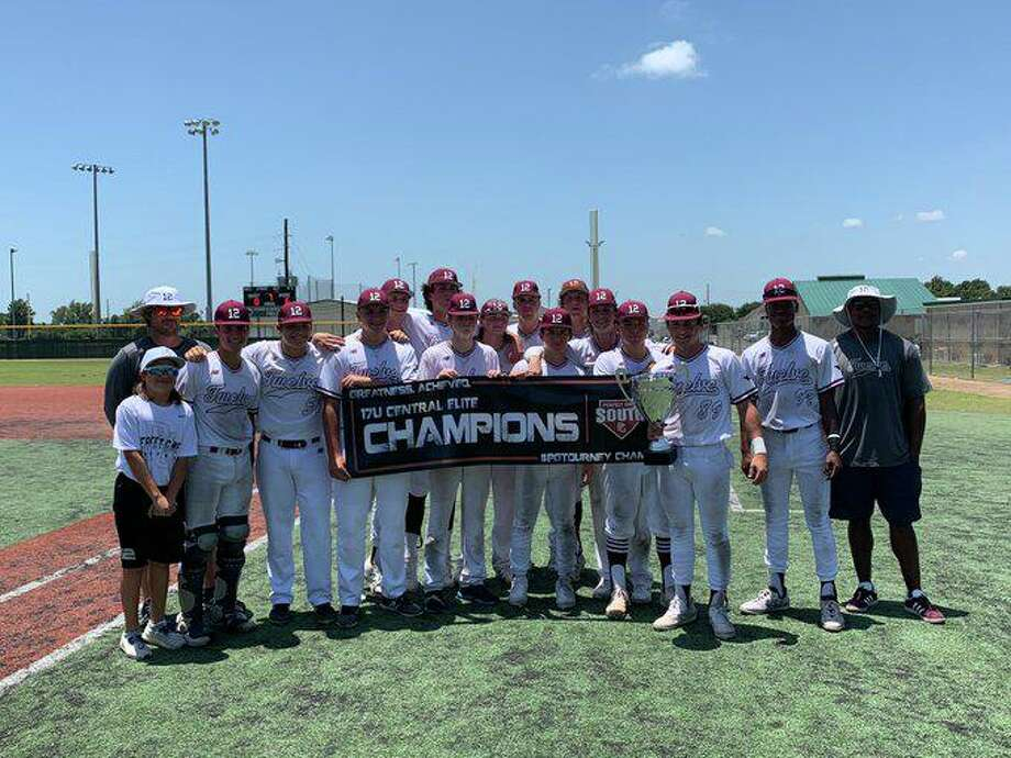 The Twelve Baseball Gold 2022 squad won the 17U Central Elite Championship, July 9-13 at Premier Baseball of Texas in Tomball. Photo: Twelve Baseball