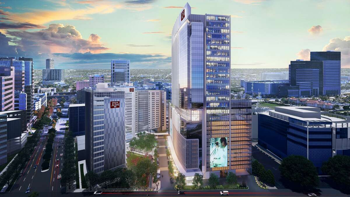 The Texas A&M University System plans to build a complex in the Texas Medical Center with a 19-story building for student housing, an 18-story academic building for its engineering medicine program and a 30-story medical office building called Horizon Tower.