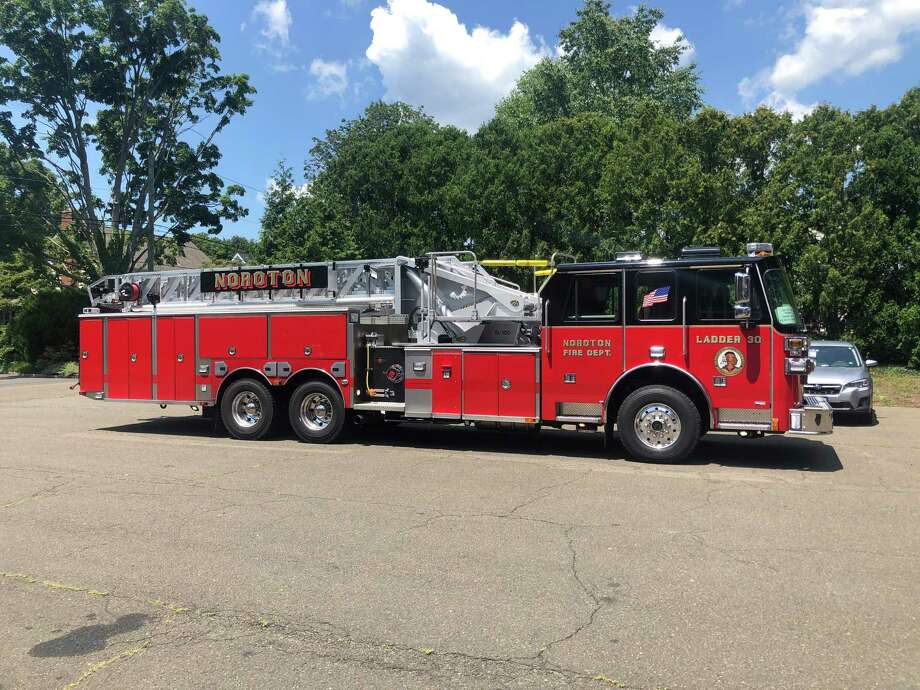 Noroton Fire Department has some new wheels. Photo: Noroton Fire Department