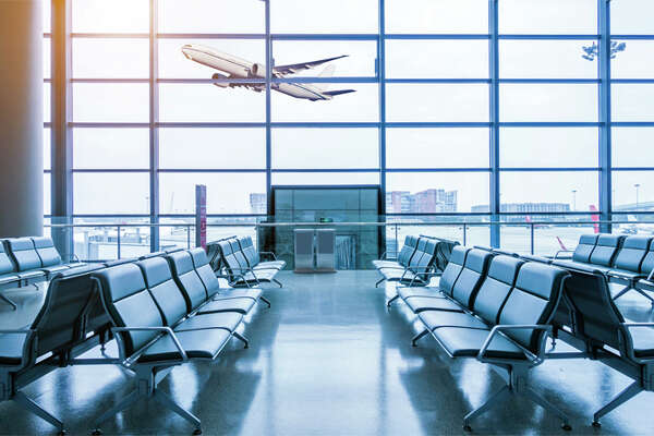 Nearly-empty international airports could be the norm for the next few years.