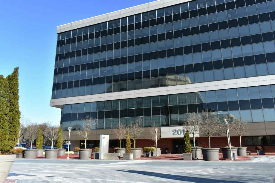 A file photo of the headquarters office building of Xerox at 201 Merritt 7 in Norwalk, Conn. Photo: Alexander Soule / Hearst Connecticut Media / Stamford Advocate