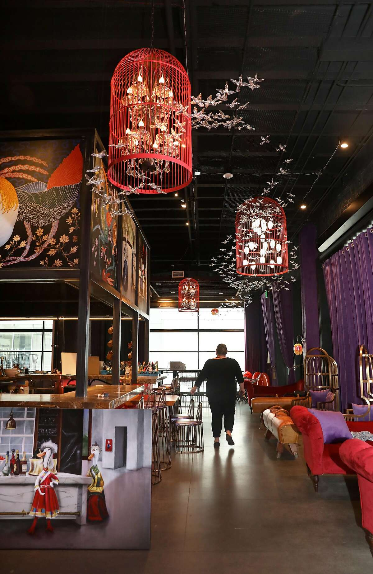 Dim sum bar, Northern Duck, is the restaurant which is part of the expansion across the hall from The Market on Tuesday, July 28, 2020, in San Francisco, Calif.