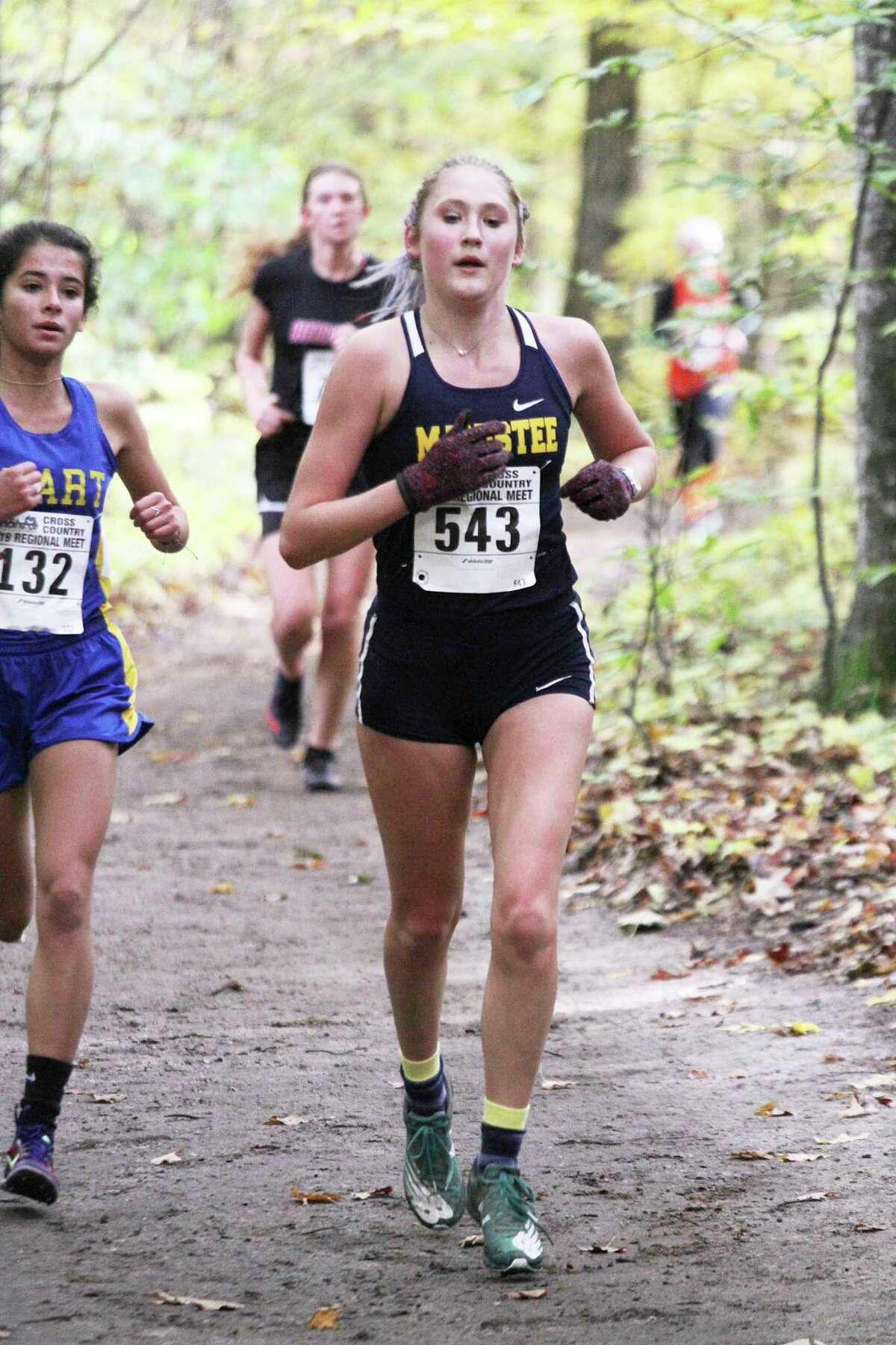 Manistee graduate Noelle Fink will run cross country for Grand Rapids Community College this fall. (News Advocate file photo)