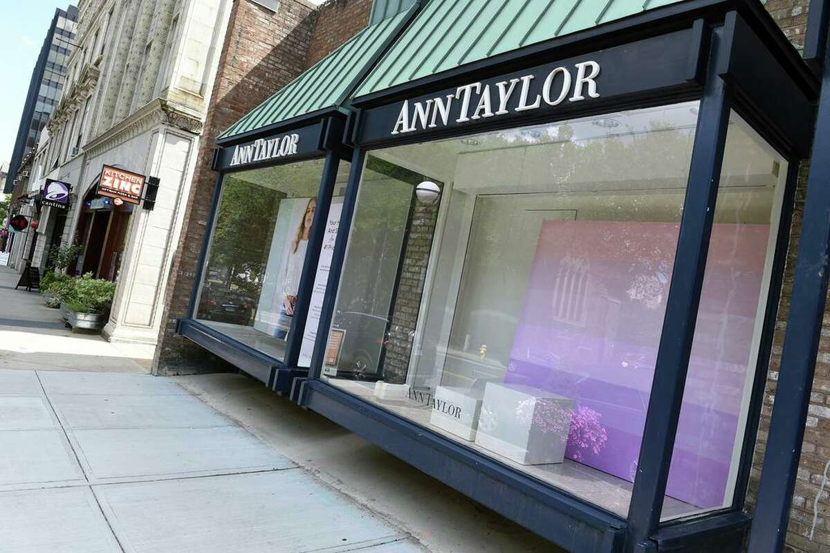Ann Taylor has closed up shop on Chapel Street in New Haven as photographed on July 28, 2020.
