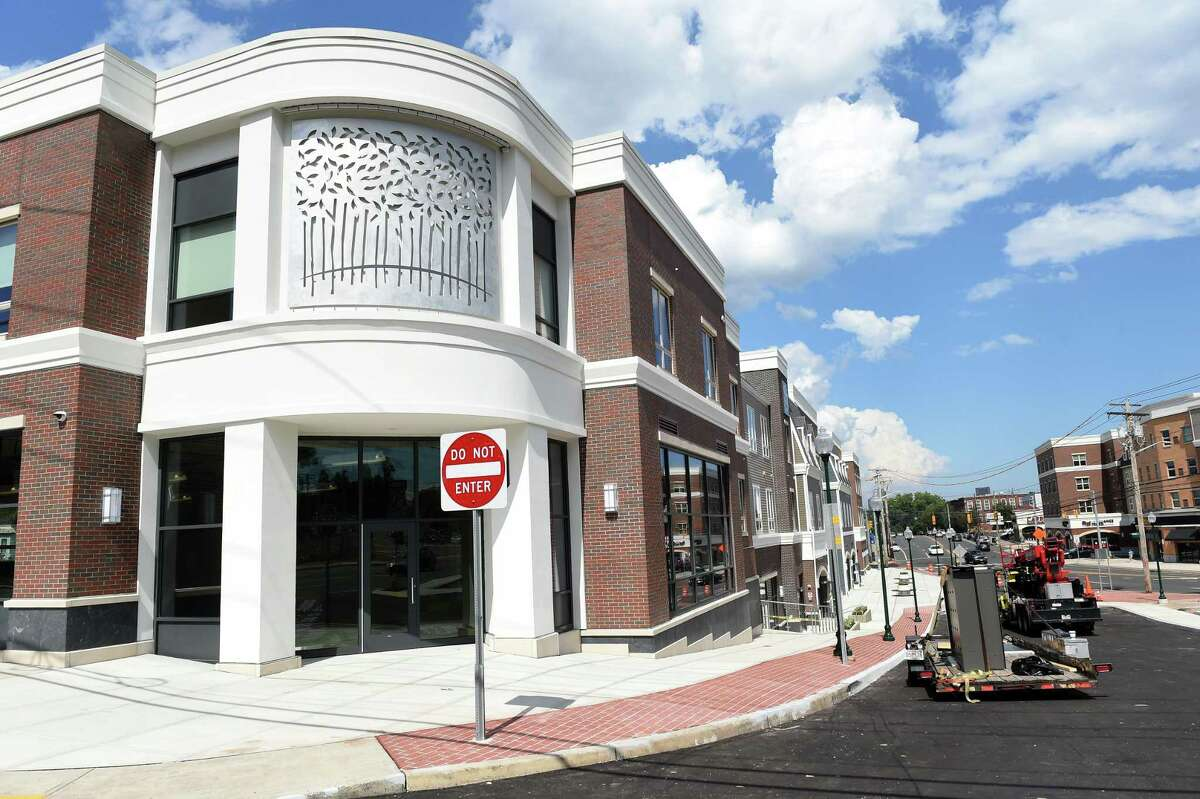 New development at the corner of Forest Road and Cellini Place in West Haven photographed on July 28, 2020.