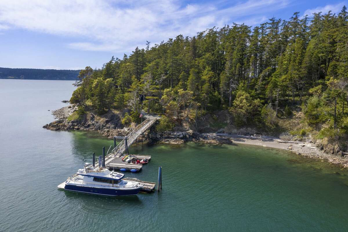 New owners will enjoy a 60 x 80-foot deep water dock  with 2 slips, approved for seaplanes and yachts.