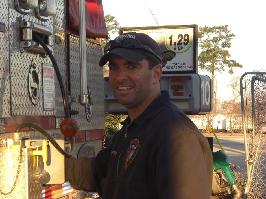 Spring Fire Department District Chief Shawn Babendure, who the department memorialized July 26 after he died following a two-year battle with brain cancer. Photo: Courtesy Of Spring Fire Department