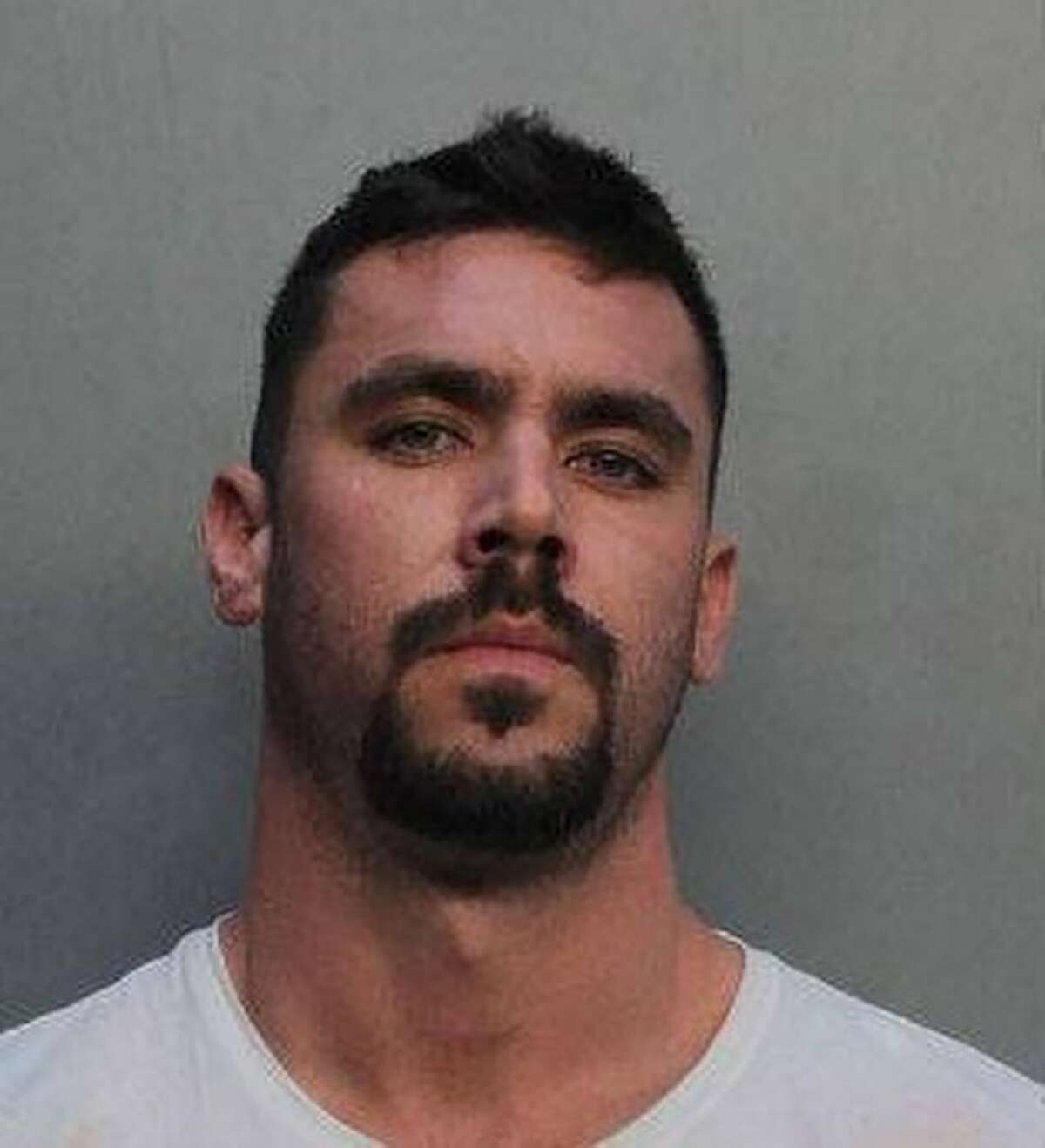 In an undated image provided by Miami-Dade County Department of Corrections, David T. Hines. Hines, 29, was arrested and charged with three felonies after spending relief money on a Lamborghini, clothes and jewelry, federal prosecutors said. (Miami-Dade County Department of Corrections via The New York Times) -- FOR EDITORIAL USE ONLY. --