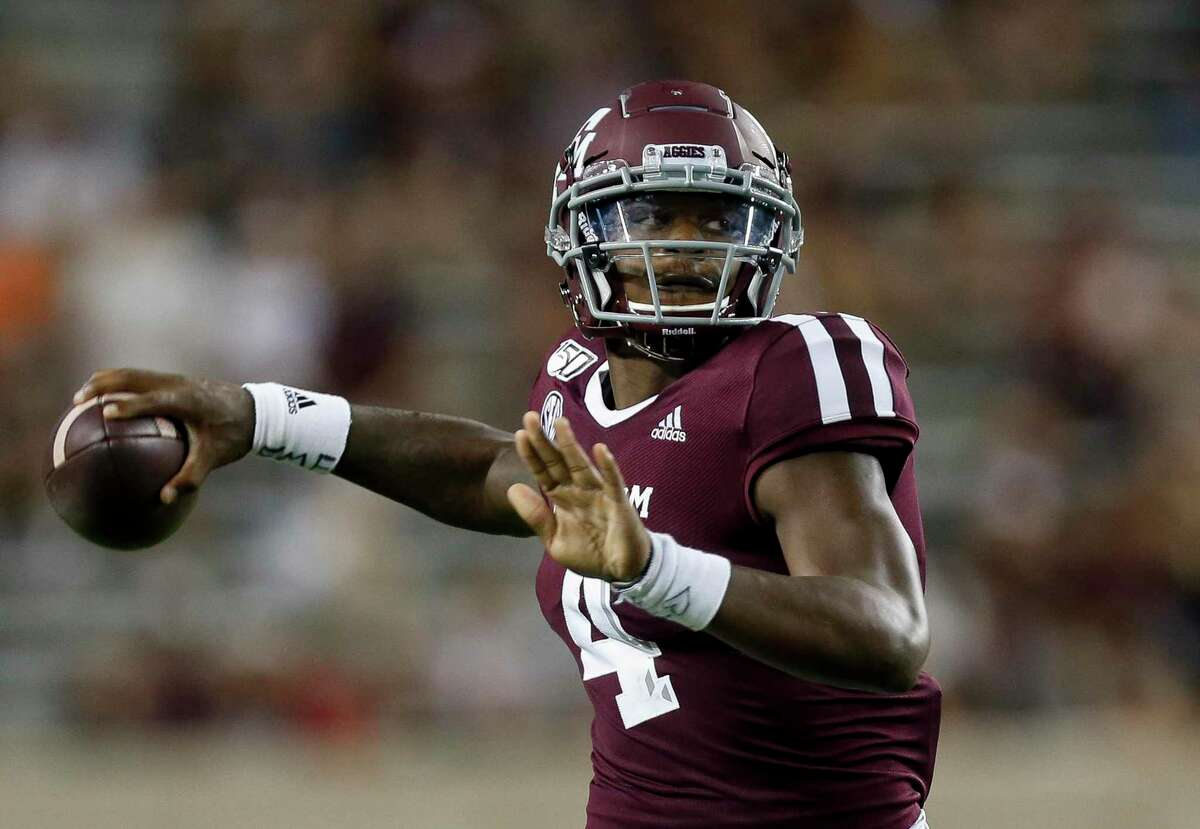 James Foster saw action against Lamar last season but the quarterback has decided to transfer from Texas A&M.