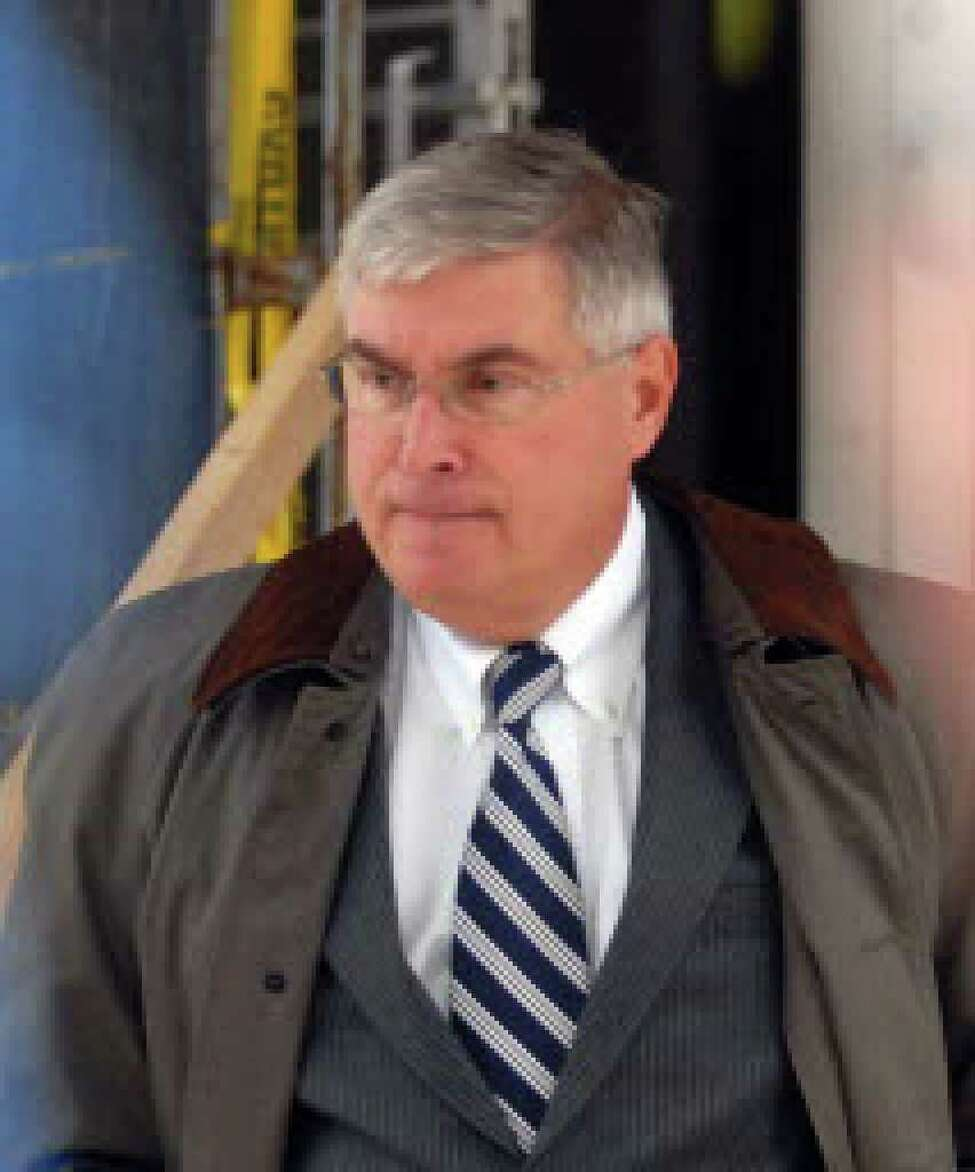 Timothy McGinn, whose brokerage firm is targeted in ongoing probes by the FBI and SEC, suffered a heart attack on Tuesday. Details of his condition were not available. (File photo)