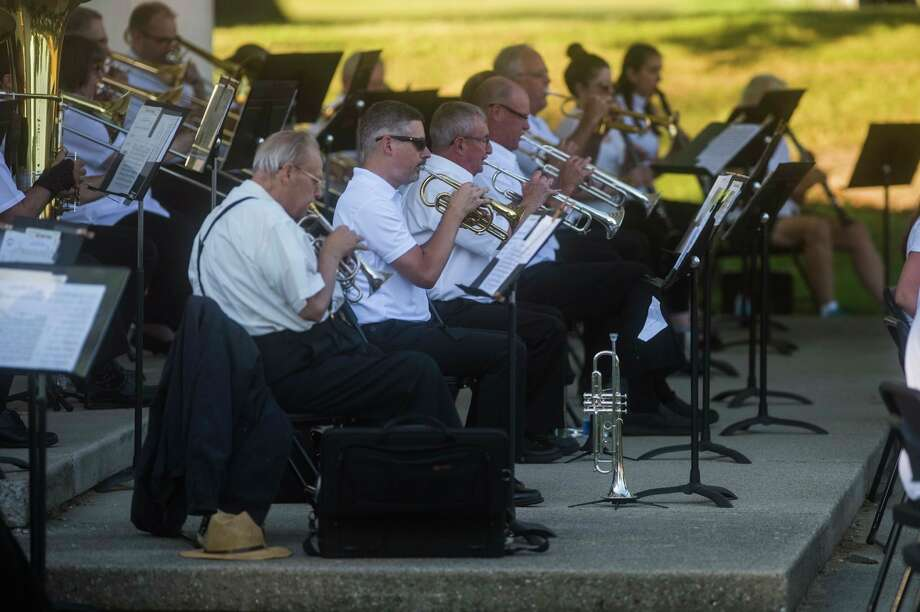 Wednesday, July 29: Chemical City Band will perform at 7:30 p.m. at the Nicholson-Guenther Band Shell in Central Park in Midland.(Daily News file photo)