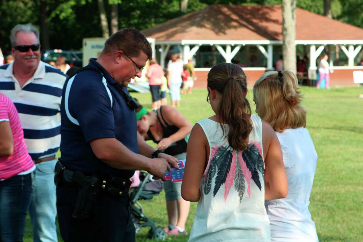 The Evart National Night Out 2020 event has been canceled due to concerns over the coronavirus pandemic. Although the National Night Out organization is encouraging participating police department to hold the event in October, Evart officials determined that because the weather at that time is too unpredictable, it would be better to cancel the event altogether. (Herald Review file photo)
