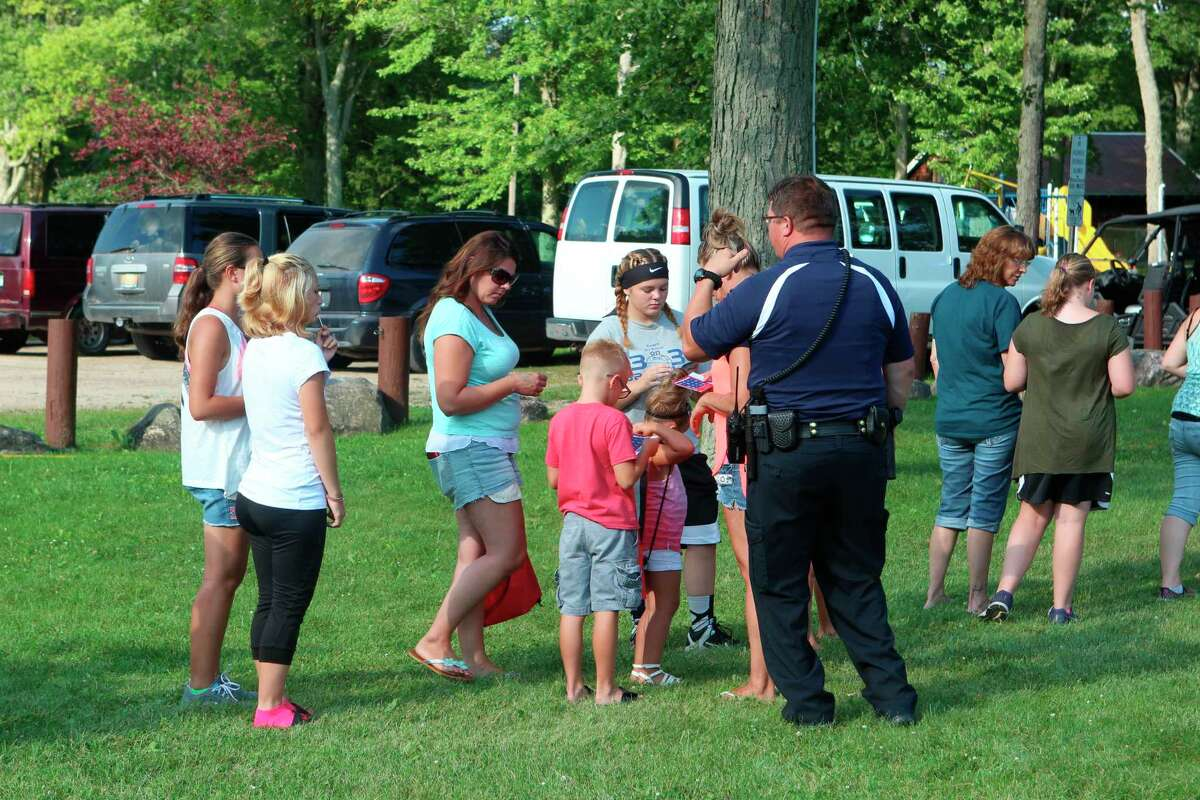 The Evart Police Department has canceled the National Night Out 2020 event due to concerns over the coronavirus pandemic. (Herald Review file photo)