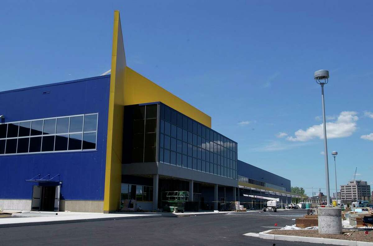 Ikea building on Sargent Drive, New Haven. Conn.