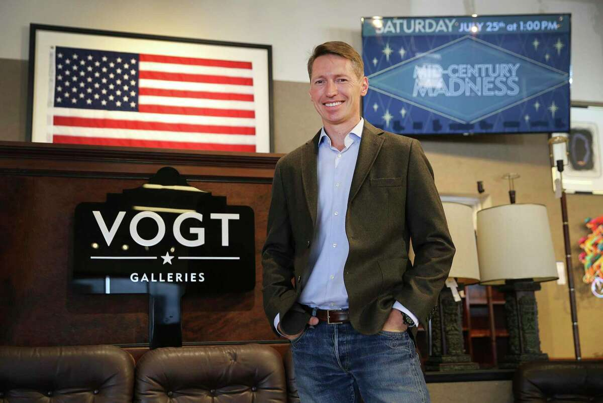 Vogt Auction Galleries holds about 50 auctions a year.