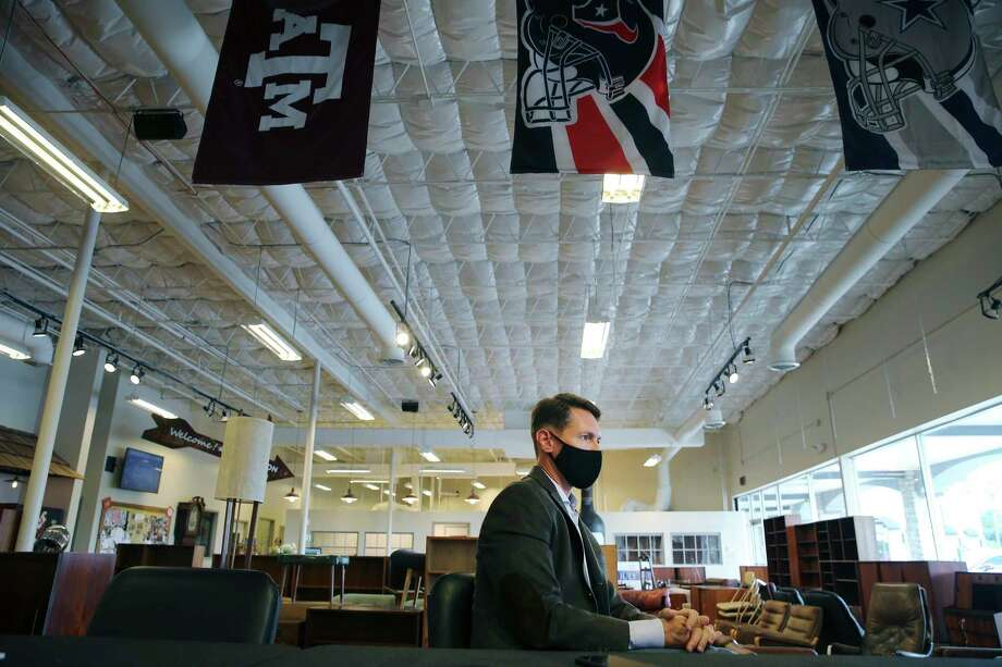 Despite all that has happened during the pandemic, Vogt Auction Galleries director Rob Vogt said his business has had one of its best years. Photo: Kin Man Hui /Staff Photographer / **MANDATORY CREDIT FOR PHOTOGRAPHER AND SAN ANTONIO EXPRESS-NEWS/NO SALES/MAGS OUT/ TV OUT