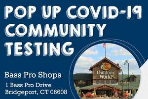 Southwest Community Health Center is partnering with Bass Pro Shop in Bridgeport to offer free COVID-19 testing on Monday.