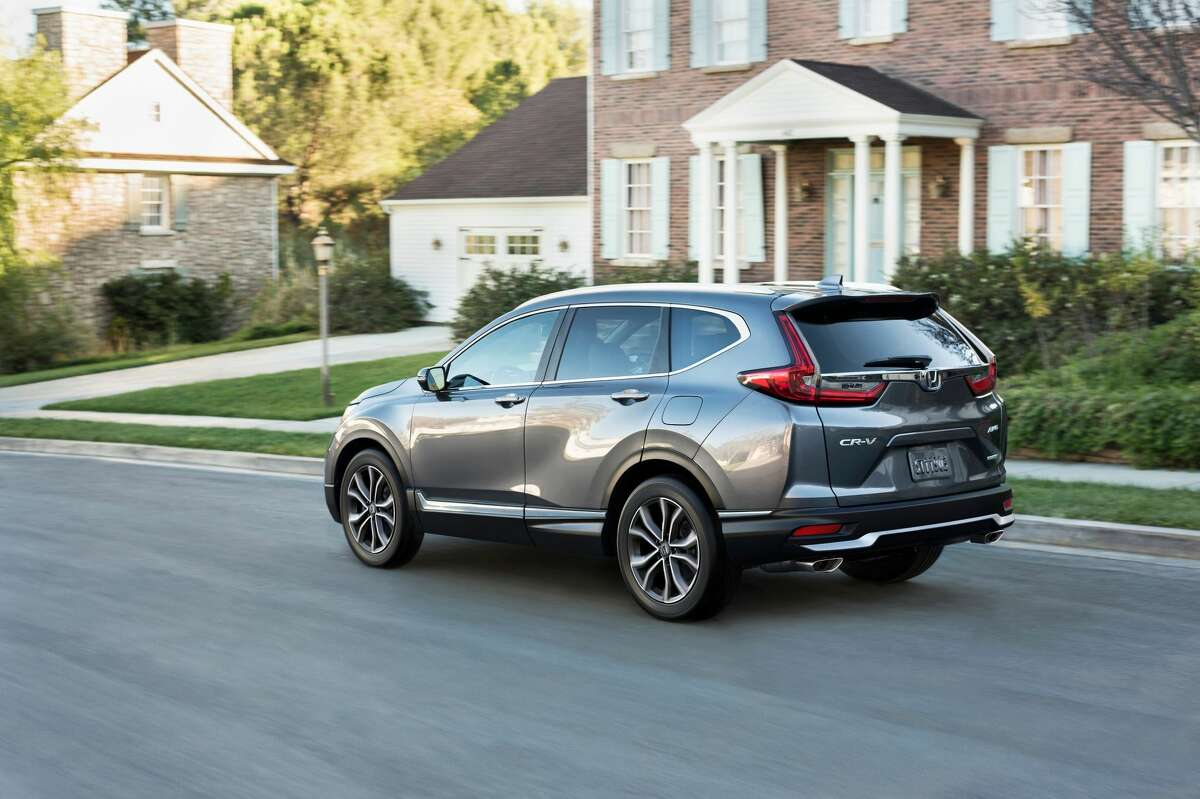 The turbo-4 engine is rated at 190 horsepower and 179 lb.-ft. of torque. The engine makes plenty of power for the 3,529-pound CR-V and delivers it smoothly through a CVT transmission.