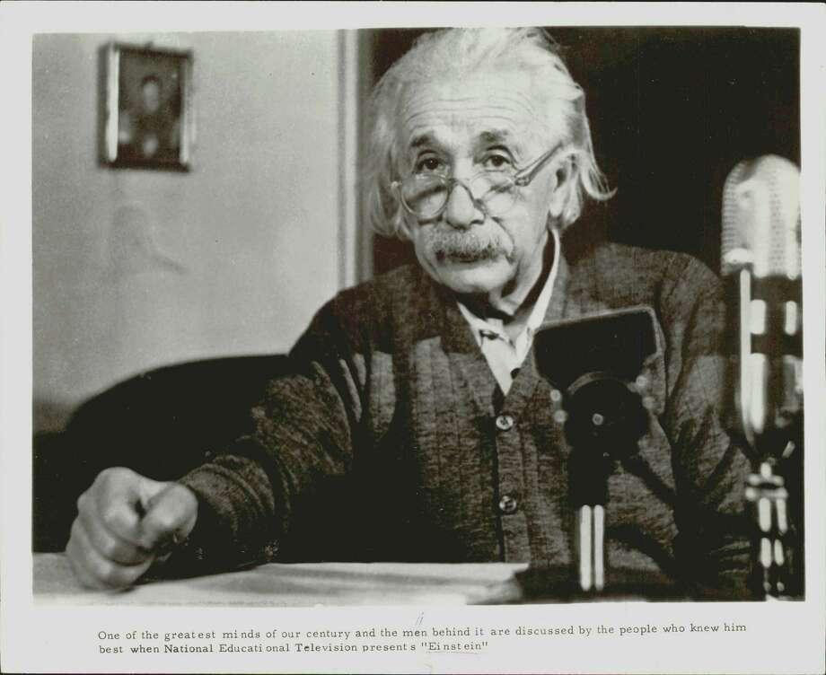 Albert Einstein / Houston Chronicle