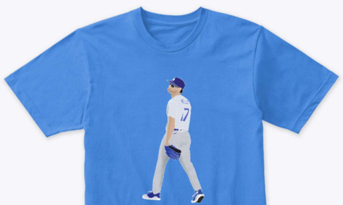 PHOTOS: A closer look at the benches clearing in Tuesday night's Astros-Dodgers game A company already has made a T-shirt commemorating Joe Kelly's antics against the Astros on Tuesday night. (You'll have to go to the store link to see the expletive included on the shirt).