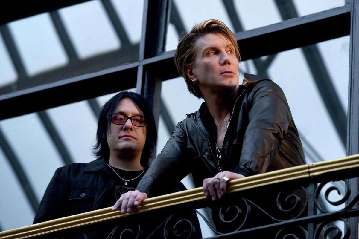 Goo Goo Dolls, featuring original singer/guitarist John Rzeznik and bassist Robby Takac, at SPAC. Photos by Bob Mussel