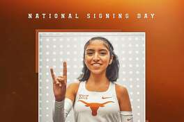 Former Nixon runner Alexa Rodriguez will run for the University of Texas. She previously ran for Western Colorado.