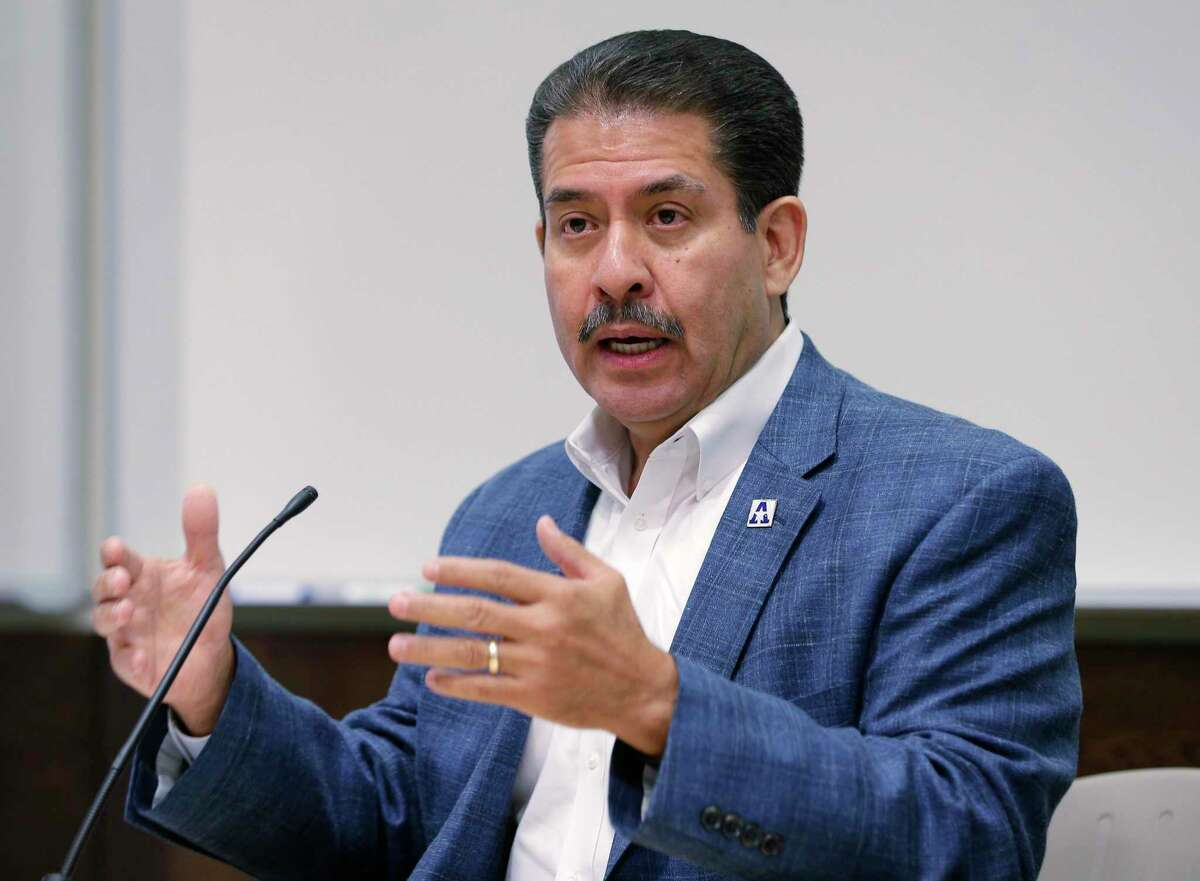 Harris County Precinct 2 Commissioner Adrian Garcia, shown here in 2018, said the extra $10 million should help an additional 6,000 tenants.