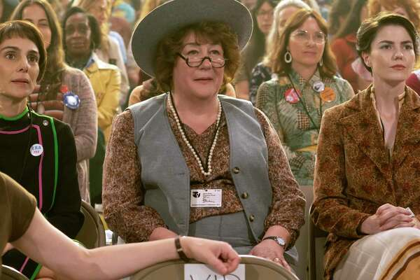 "Actress Margo Martindale as New York Congresswoman Bella Abzug in ""Mrs. America"""