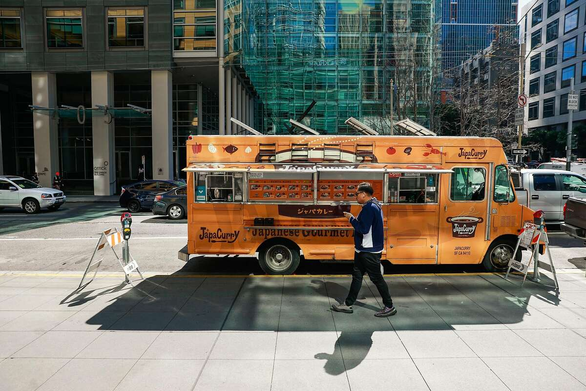 The JapaCurry food truck South of Market was doing bigger business in March.
