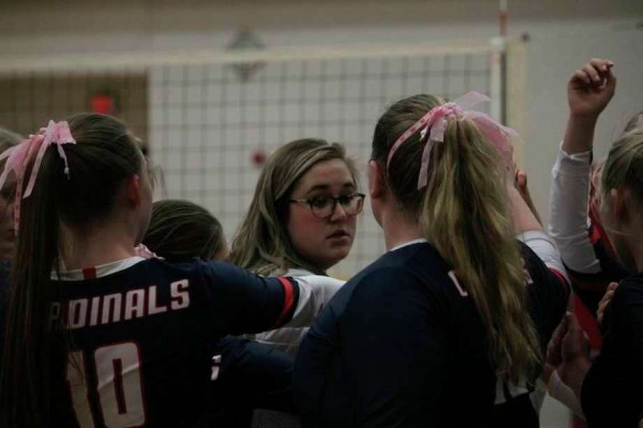 BR volleyball coach Chelsea Nelson said she and her players are doing the best to control what they are able to. (Pioneer file photo/John Raffel)