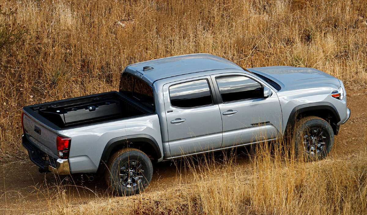 The Tacoma Trail Edition and its Tundra Trail Edition counterpart are fitted with lockable storage boxes (driver-side insulated) on either side of the bed.