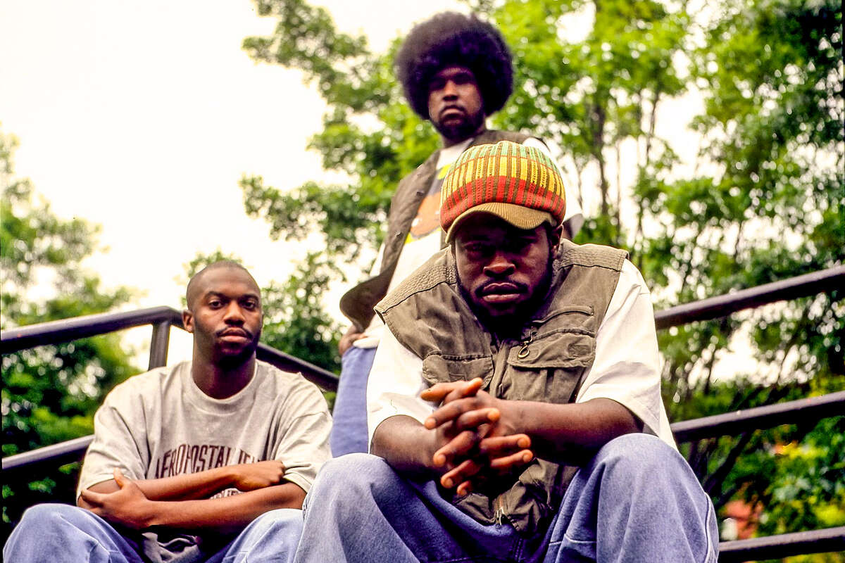Malik B (left), the rapper who was a co-founding member of the Roots and appeared on their first four LPs, has died at the age of 47.