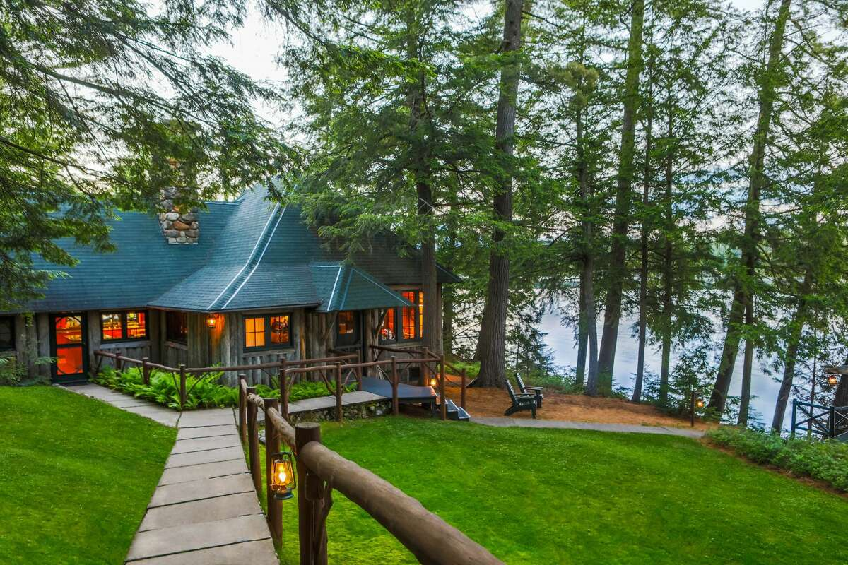 Views of Camp Woodmere, a property in Franklin County in the Adirondacks to be auctioned Saturday, Aug. 1, 2020
