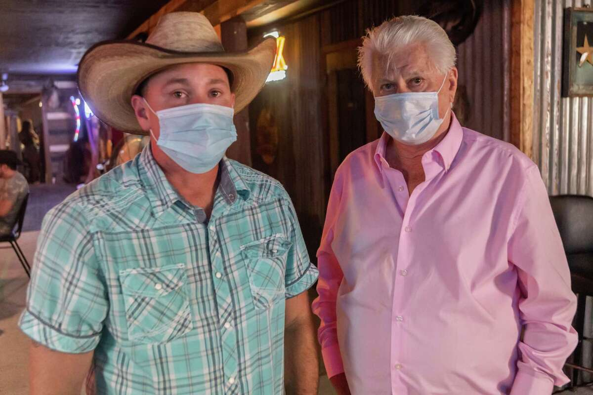 Soggy Bottom Saloon owners Bobby Parhamn, Jr. and Bobby Parham, Sr. are proud to own a bar where everyone knows your name, but the governor's shutdown is seriously hurting them financially. The bar in Beaumont joined more than 800 bars in the Freedom Fest State-Wide Unified 51%er Protest defying Governor Greg Abbot??s executive order which shutdown bars. Photo made on July 25, 2020. Fran Ruchalski/The Enterprise